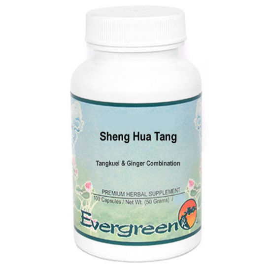 Picture of Sheng Hua Tang Evergreen Capsules 100's