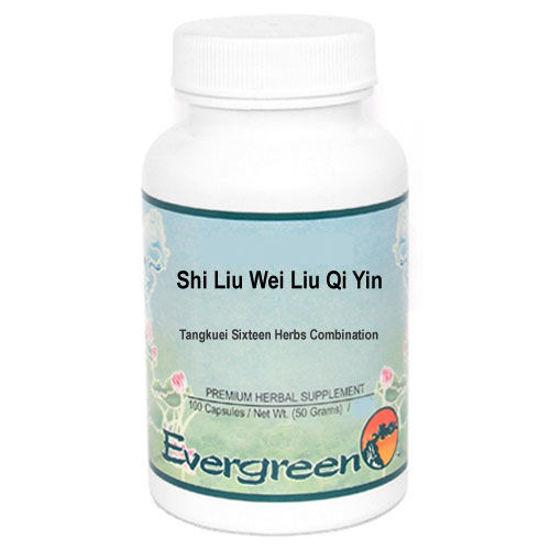 Picture of Shi Liu Wei Liu Qi Yin Evergreen Capsules 100's