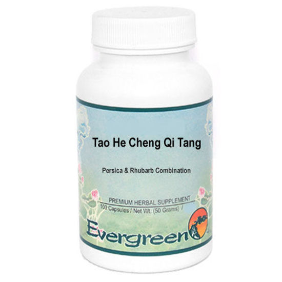 Picture of Tao He Cheng Qi Tang Evergreen Capsules 100's