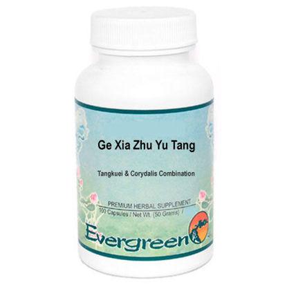 Picture of Ge Xia Zhu Yu Tang Evergreen Capsules 100's