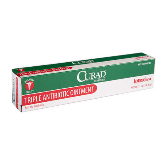Picture of Triple Antibiotic Ointment Curad 1oz tube