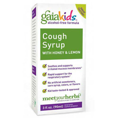 Picture of Bronchial Wellness Cough Syrup 3 oz., Gaia Kids