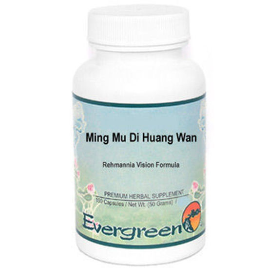 Picture of Ming Mu Di Huang Wan Evergreen Capsules