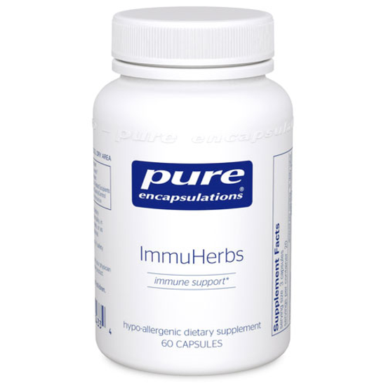 Picture of Immu Herbs 60 ct., Pure Encapsulations
