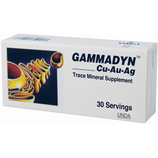 Picture of Gammadyn Cu-Au-Ag 30 tabs, Unda