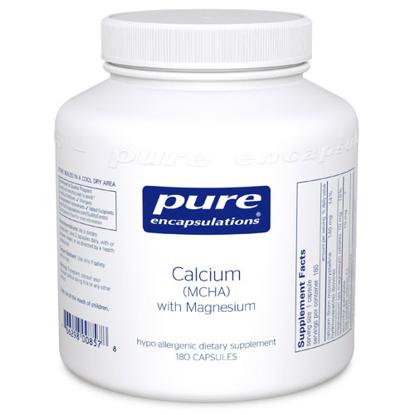 Picture of Calcium (MCHA) with Magnesium 180's, Pure Encapsulations