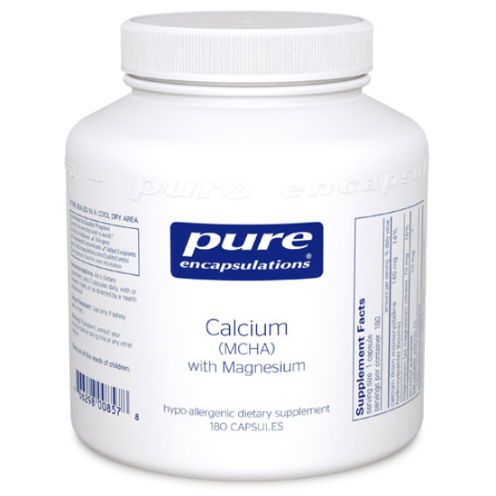 Picture of Calcium (MCHA) with Magnesium 180's, Pure Encapsulations