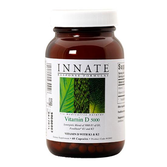 Picture of Vitamin D3 5,000 IU 60 ct., Innate