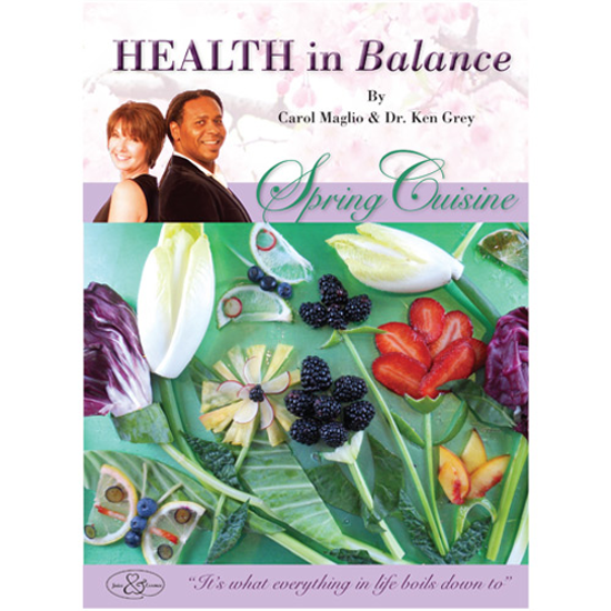 Picture of Book, Health in Balance - Spring Cuisine