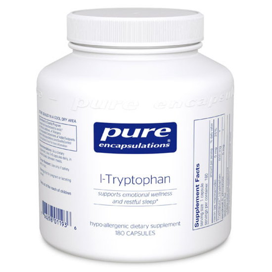 Picture of L Tryptophan by Pure Encapsulations