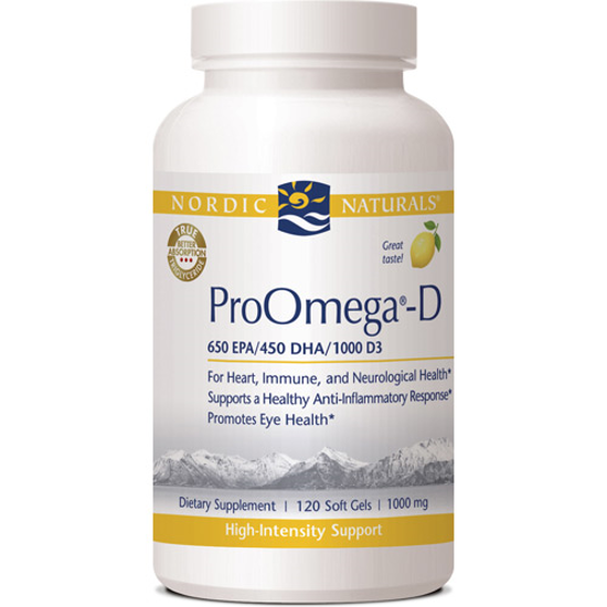 Picture of Nordic Pro Omega D 120 ct. Lemon Flavor