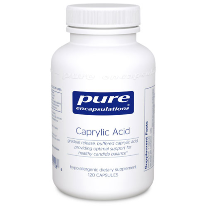 Picture of Caprylic Acid by Pure Encapsulations