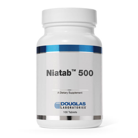 Picture of Niatab 500 100 Tabs by Douglas Laboratories