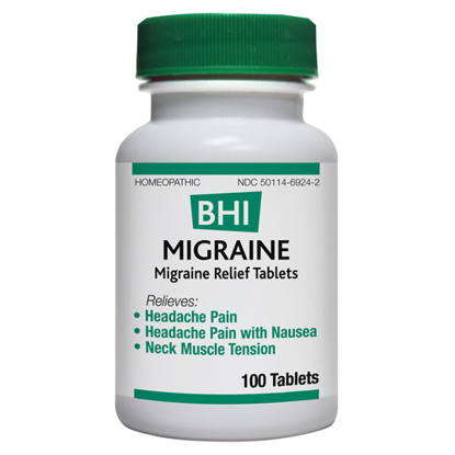 Picture of Migraine Tabs by BHI 100's