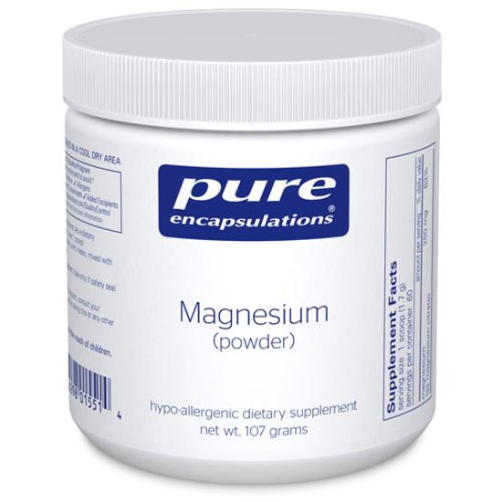 Picture of Magnesium Powder 107g, Pure Encapsulations