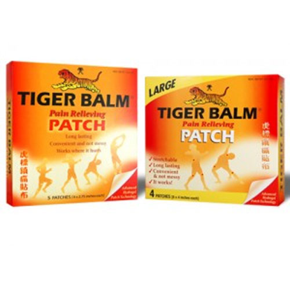 "Picture of Tiger Balm Patch Large Size (4 Pack) 8""x4"""
