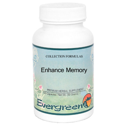 Picture of Enhance Memory Granules 100g, Evergreen