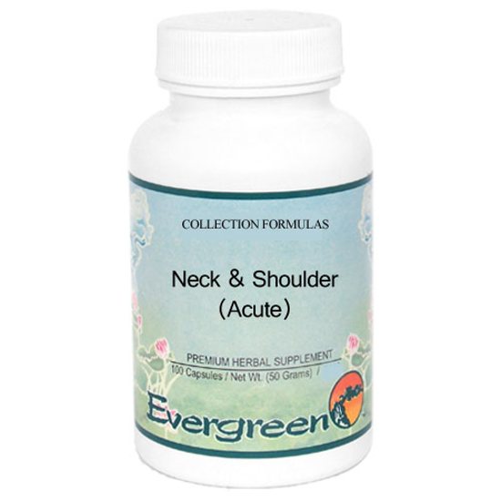 Picture of Neck & Shoulder (AC) Granules 100g, Evergreen