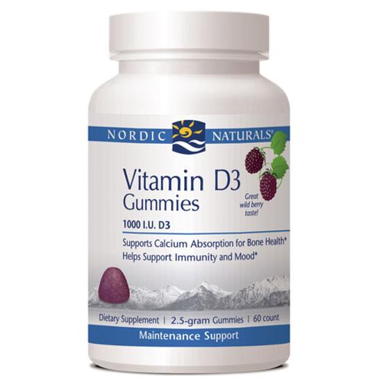 Picture of Nordic Vitamin D3 Gummies