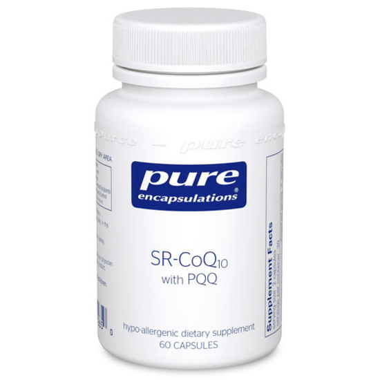 Picture of SR CoQ10 with PQQ 60's, Pure Encapsulations