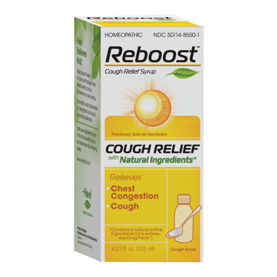 Picture of Reboost Cough Syrup 125ml, Heel (Formerly Nectadyn)