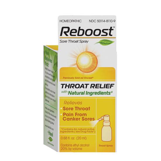 Picture of Reboost Throat Spray 20ml, Heel (Formerly Vinceel)