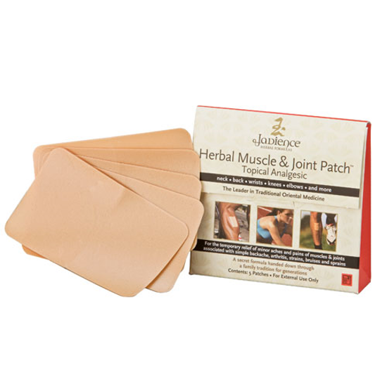 Picture of Herbal Muscle & Joint Patches, Jadience (Box of 5)