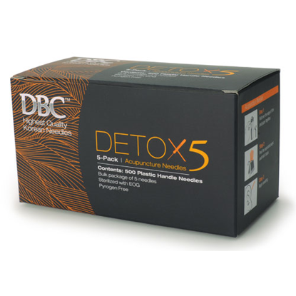 Picture of DBC Detox 5 Bulk Needles 500's