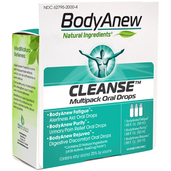 Picture of BodyAnew Cleanse Kit Oral Drops by MediNatura