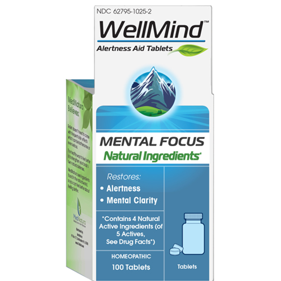 Picture of WellMind Mental Focus tabs 100's by MediNatura
