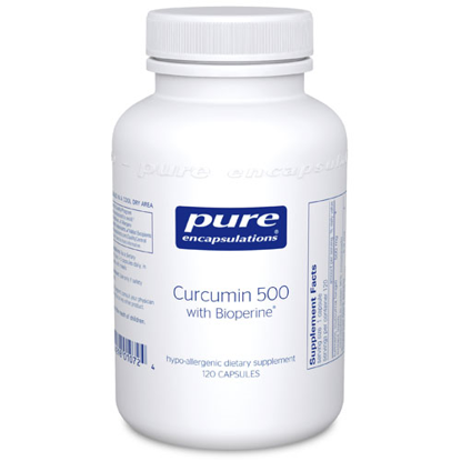 Picture of Curcumin 500 w/ Bioperine by Pure Encapsulations