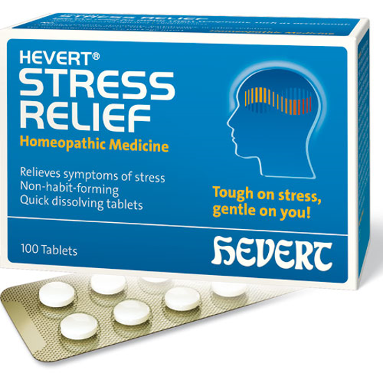 Picture of Stress Relief 100 tabs, Hevert Pharmaceuticals