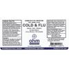 Picture of Cold & Flu 2 oz. Spray, Ohm Pharma