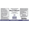 Picture of Mouthwash 2 oz. Dropper, Ohm Pharma