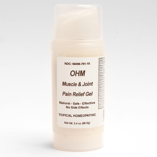 Picture of Muscle & Joint Pain Relief Gel 3.4 oz. pump, Ohm Pharma