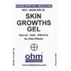Picture of Skin Growths Gel 2 oz. pump, Ohm Pharma