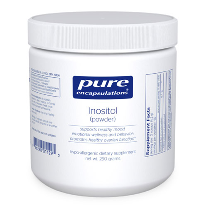 Picture of Inositol (Powder) 250g, Pure Encapsulations