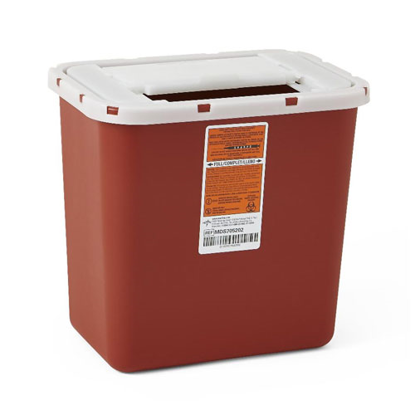 Picture of Sharps (2) Gallon Needle Disposal Container