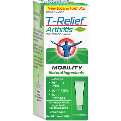 Picture of T-Relief Arthritis Ointment 2oz. (57g), MediNatura