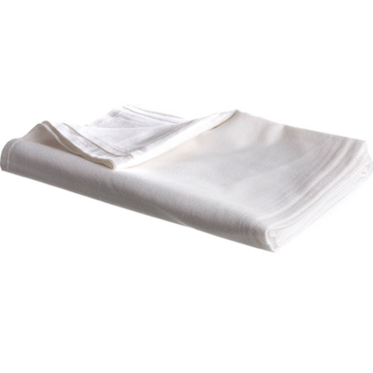 Picture of Blanket, Flannel Patient (White)