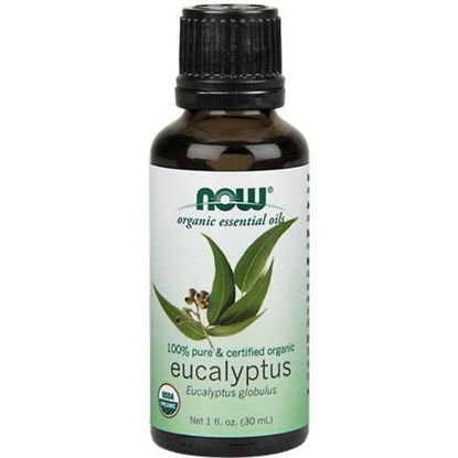 Picture of Organic Eucalyptus Essential Oil 1oz. by NOW Foods