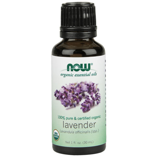 Picture of Organic Lavender Essential Oil 1oz. by NOW Foods