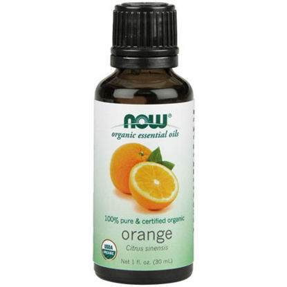 Picture of Organic Orange Essential Oil 1oz. by NOW Foods