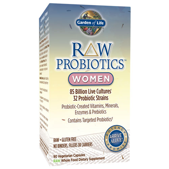 Picture of Raw Probiotics Women 90 Caps by Garden of Life