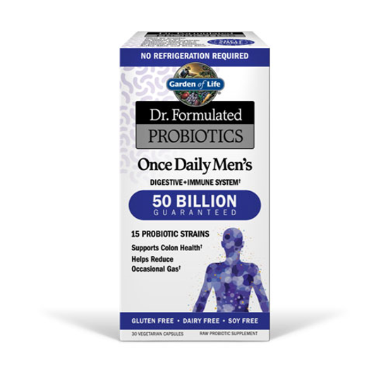 Picture of Dr. Formulated Probiotics Once Daily Men's 30 Caps by GoL