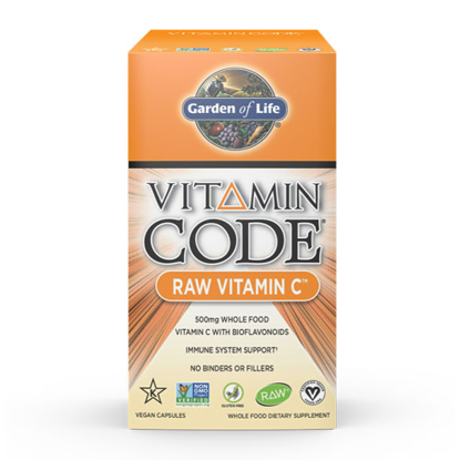 Picture of Vitamin Code Raw Vitamin C 120 Caps by Garden of Life