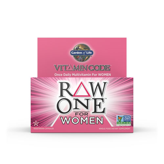 Picture of Vitamin Code Raw One for Women 75 Caps by Garden of Life