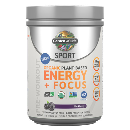 Picture of Sport Organic Energy & Focus (Blackberry) 432g by GoL