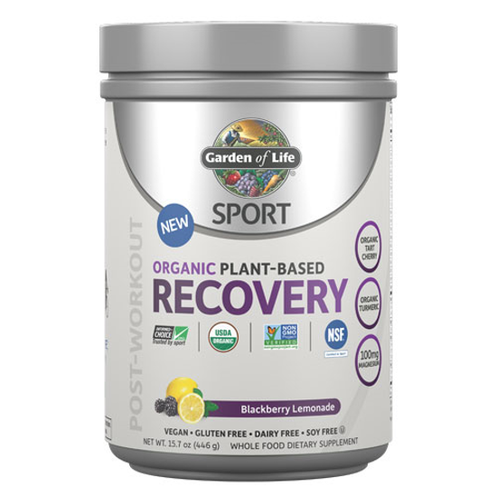 Picture of Sport Organic Recovery (Blackberry Lemonade) 446g by GoL