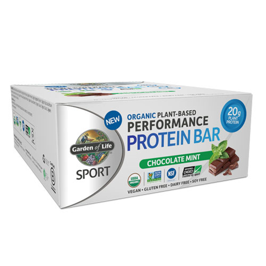 Picture of Sport Organic Performance Protein Bar (Chc. Mint) 12ct, GoL